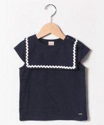 petit main/セーラーカラーTシャツ/502276694