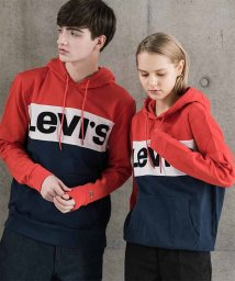 LEVI'S MEN/COLORBLOCK HOODIE COLORBLOCK CHINESE RED/502280623