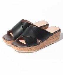 INTER-CHAUSSURES IMPORT/【ABOVE AND BEYOND】クロスベルト厚底サンダル/502288035