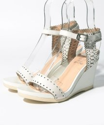 INTER-CHAUSSURES IMPORT/【ABOVE AND BEYOND】レーザーカットウエッジサンダル/502288039
