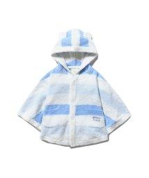 gelato pique Kids&Baby/【BABY】'スムーズィー'グラデーションボーダー baby ポンチョ/502293977