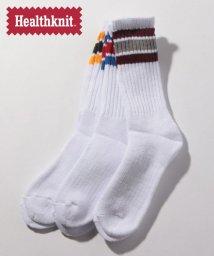 MARUKAWA/【Healthknit】 25-27CM ソックス 3足組 セット 靴下 ヘルスニット/502266657