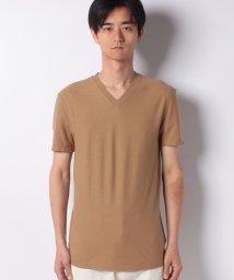 BENETTON (mens)/ニューファブリックベーシック半袖VネックTシャツ・カットソー/502267789