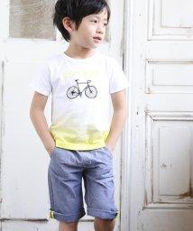 BeBe/ダンガリーネーム付パンツ/502279431