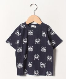 b-ROOM/トラ総柄Tシャツ/502285133