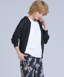 Willful by lipstar/【Willful by lipstar】ジップアップブルゾンニットカーディガン/502294543