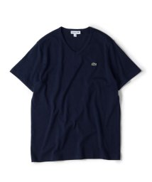 SHIPS MEN/LACOSTE: Vネック Tシャツ【TH632EM】/502295123