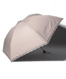 LANVIN Collection(umbrella)/LANVIN COLLECTION 晴雨兼用傘 ミニ傘 【軽量】 オーガンジー バラ カットワーク/501913232