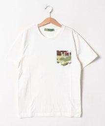 KRIFF MAYER(Kids)/ペイント×くまタグカットソー(120~160cm)/502288108