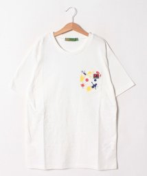 KRIFF MAYER(Kids)/ペイント×くまタグカットソー(170cm)/502288109