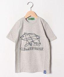 KRIFF MAYER(Kids)/くまモチーフプリントTEE(130~160cm)/502288117