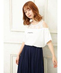INGNI/レースレイヤードオフショルTシャツ                        /502290062