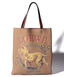 LOEWE/【LOEWE】VERTICAL TOTE LION BAG/502267367