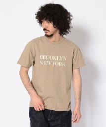 Schott/【直営店限定】BROOKLYN NEWYORK T-SHIRT/ブルックリン/502296275