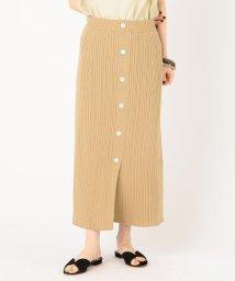 SHIPS WOMEN/コットンフロントボタンニットスカート/502296885