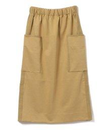 SHIPS WOMEN/assiette:ビッグポケット ポンチスカート/502297192