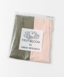 URBAN RESEARCH/FRUIT OF THE LOOM×URBAN RESEARCH 2Pリブタンクトップ/502297397
