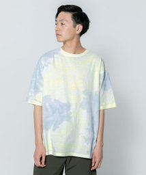 SENSE OF PLACE/タイダイボリュームTシャツ(5分袖)/502297568