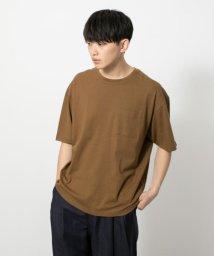SENSE OF PLACE/フレンチリネンTシャツ(半袖)/502297570