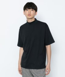 SENSE OF PLACE/ポンチモックネックTシャツ(5分袖)/502297574