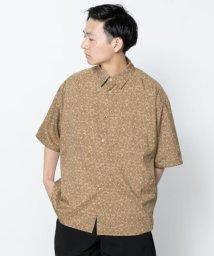 SENSE OF PLACE/バティックシャツ(5分袖)/502297575