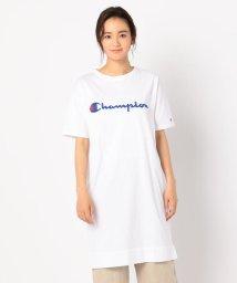 FREDY&GLOSTER/【Champion/チャンピオン】チェーン刺繍Tシャツワンピース/501380748