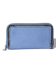 Stella McCartney/【STELLA McCARTNEY】ラウンドジップ長財布/SHAGGY DEER FALABELLA【CERULEAN】/502272883