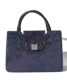 JIMMY CHOO/【JIMMY CHOO】2WAYハンドバッグ/REBELTOTES【NAVY】/502277885