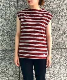 Adam et Rope Le Magasin/【ORCIVAL】40/2 STRIPE Tシャツ/502286563