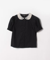 To b. by agnes b./WM68 CHEMISE レース衿ブラウス/502289379