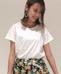 fredy emue/袖ロールアップTシャツ/502292183