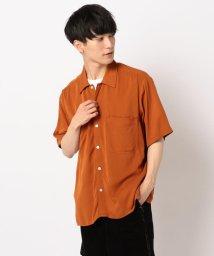 GLOSTER/【UNIVERSAL OVERALL/ユニバーサルオーバーオール】オープンカラーシャツ #U913168/502292234