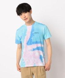 FREDYMAC/パステルタイダイ染め FREDYMAC刺繍Tシャツ/502292250