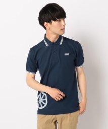 FREDYMAC/メガチャリ+ワッペンラインポロシャツ/502292252