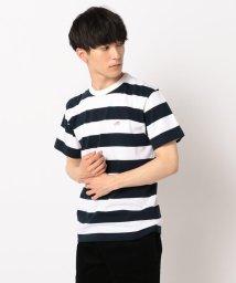 FREDYMAC/ボーダースニーカー刺しゅうTシャツ/502292254