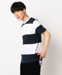 FREDYMAC/ワイドボーダースニーカー刺繍Tシャツ/502292255