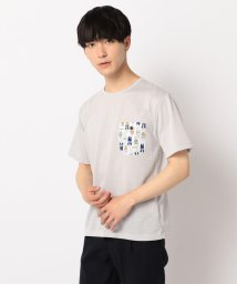 GLOSTER/Fashionable Bears ポケット付Tシャツ/502292257