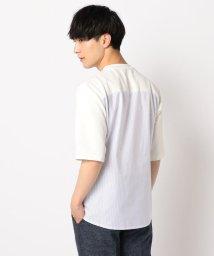 GLOSTER/ドッキングTシャツ/502292261