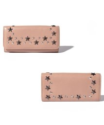 JIMMY CHOO/【JIMMYCHOO】財布 LEATHER W/MULTI METAL STAR TRIM/502276051