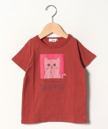 koe kids/ネコグラフィック半袖Tシャツ/502297110