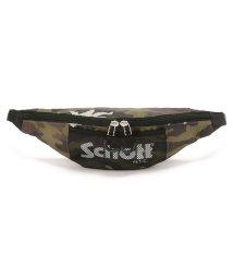 UNCUT BOUND/Schott(ショット) NYLON WAIST BAG/ナイロン ミニ ウェストバッグ/502298083