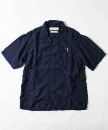 UNCUT BOUND/REMI RELIEF(レミレリーフ)  別注 刺繍レーヨンオープンシャツ/502298085