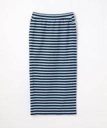 GALERIE VIE/スーピマコットンジャージー バックスリットタイトスカート/502298195