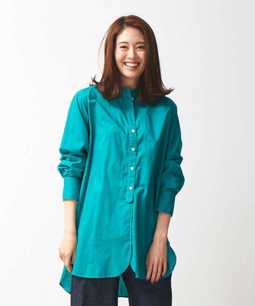collex(collex)/製品染めチュニックシャツ/60380605011