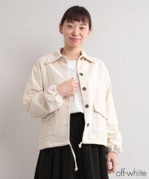 fillil/ポケットデザインコットンジャケット【ブランド:fillil】/502299644