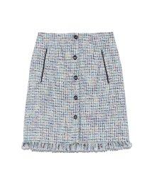 Lily Brown/ツイード台形スカート/502300111