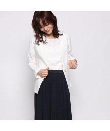 Rename/リネーム Rename ノーカラージャケット (ホワイト)/502300610