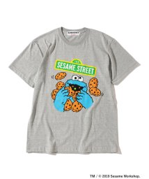 BEAMS OUTLET/【WEB限定カラー】FUJI ROCK FESTIVAL'19 × BEAMS / SESAME STREET クッキーモンスター Tシャツ/502301139