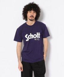 Schott/BASIC LOGO T-SHIRT/ベーシック ロゴ Tシャツ/501433807