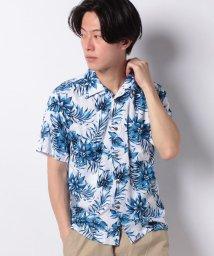 JNSJNM/【BLUE STANDARD】レーヨンアロハシャツ/502280894